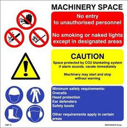 Picture for category Combination of Safety signs