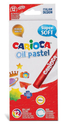 Picture of Carioca oil pastel with 12 colors