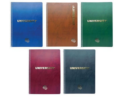 Picture of University Gold Spiral Notebook